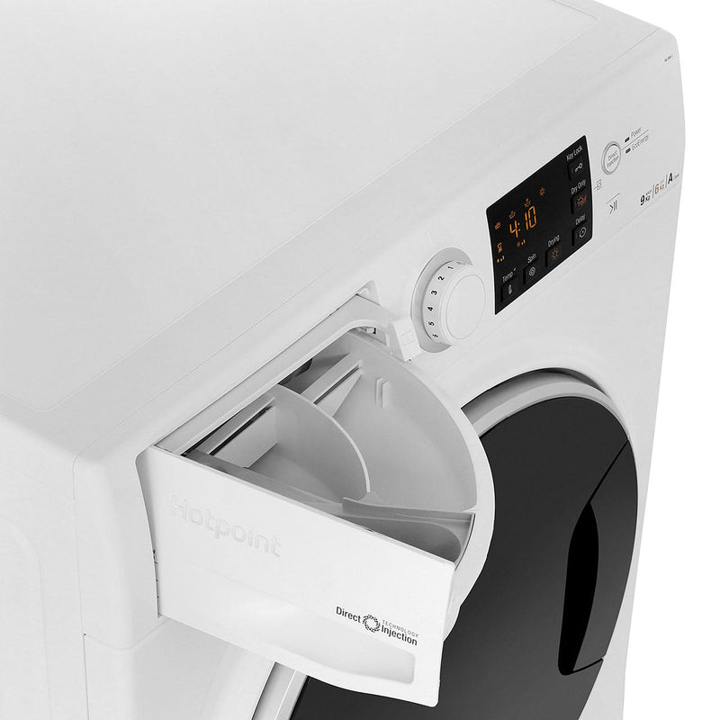 Hotpoint Ultima S-Line RG964JD 9Kg / 6Kg Washer Dryer with 1400 rpm - White - A Rated