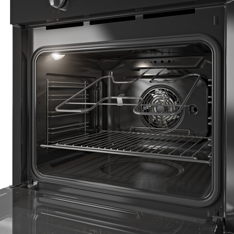 Indesit Aria IFW6340BL Built In Electric Single Oven - Black - A Rated