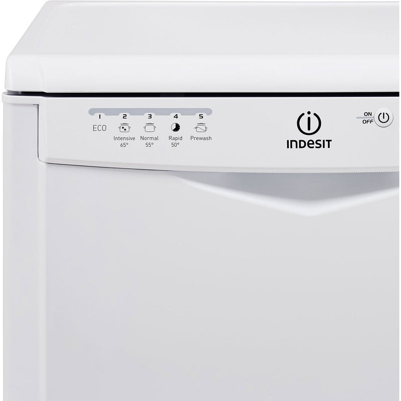 Indesit Eco Time DFG15B1K Standard Dishwasher - Black - A+ Rated
