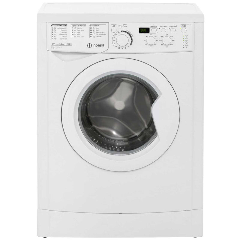 Indesit My Time EWSD61252W 6Kg Washing Machine with 1200 rpm - White - A++ Rated
