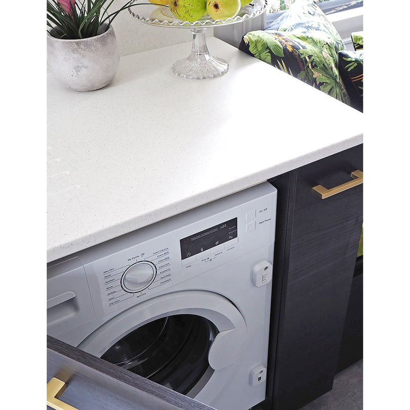 Stoves INTWM7KG Integrated 7Kg Washing Machine with 1400 rpm - White - A+++ Rated