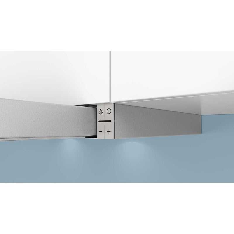 Siemens IQ-300 LI64MA530B 60 cm Telescopic Cooker Hood - Silver - A Rated