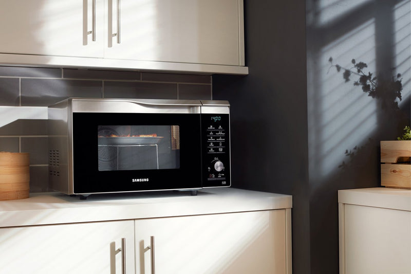 Samsung Easy View™ MC28M6075CS 28 Litre Combination Microwave Oven - Silver