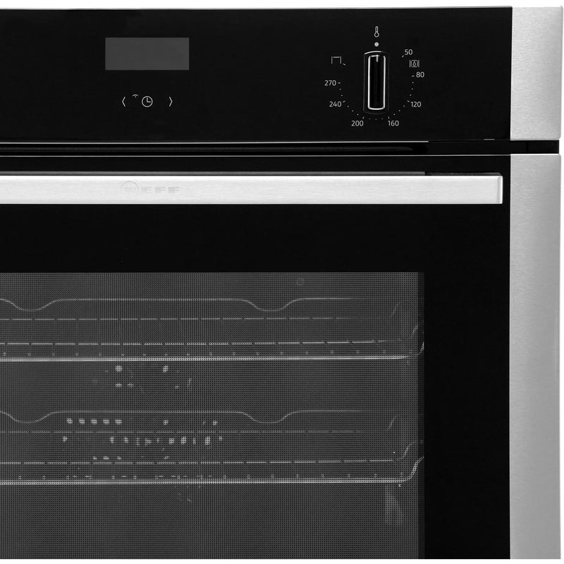 NEFF N50 B1ACE4HN0B Built In Electric Single Oven - Stainless Steel - A Rated