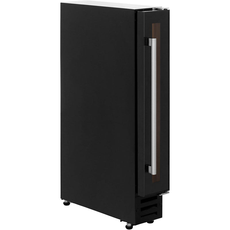 Belling Unbranded 150BLKWC Built In Wine Cooler - Black - D Rated