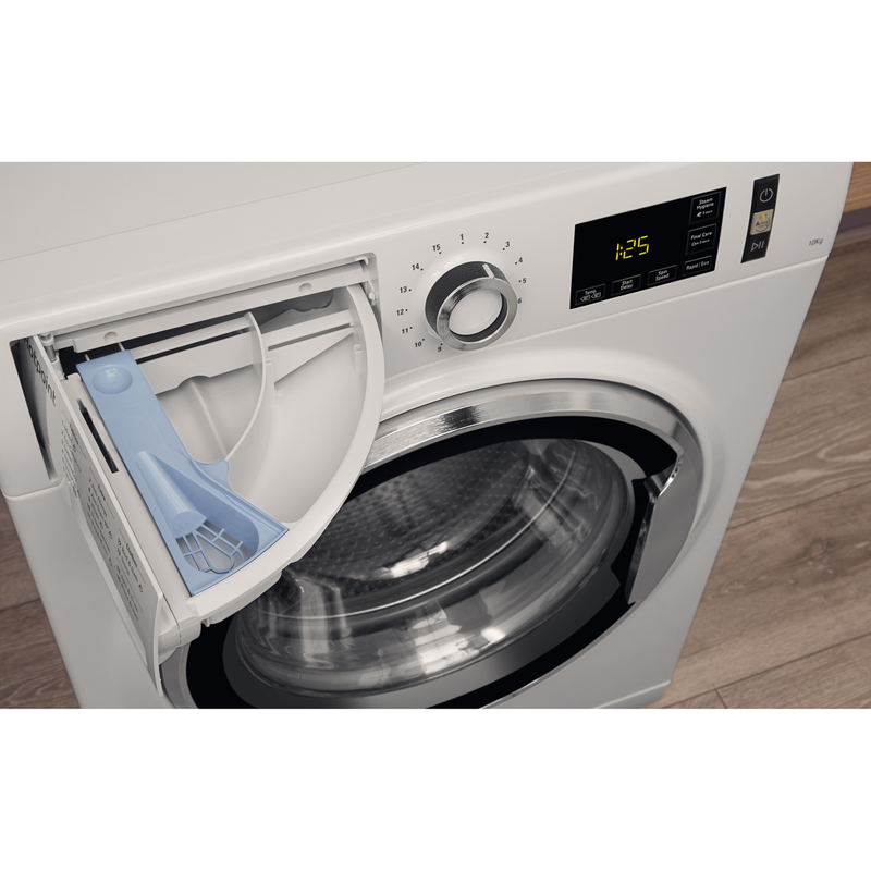 Hotpoint ActiveCare NM111065WCAUK 10Kg Washing Machine with 1600 rpm - White - A+++ Rated