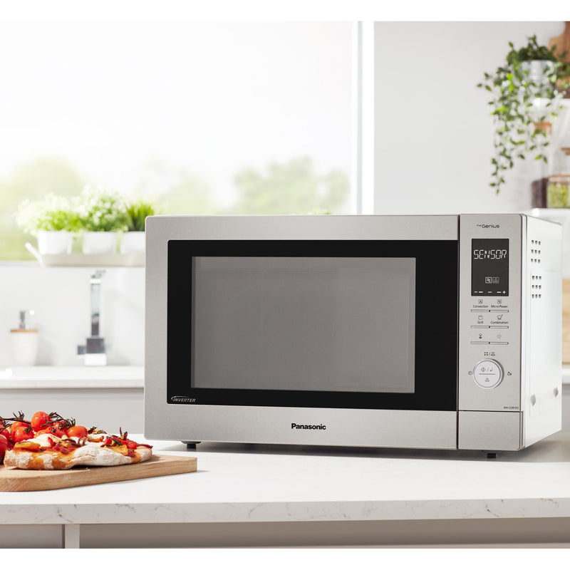Panasonic NN-CD87KSBPQ 34 Litre Combination Microwave Oven - Stainless Steel