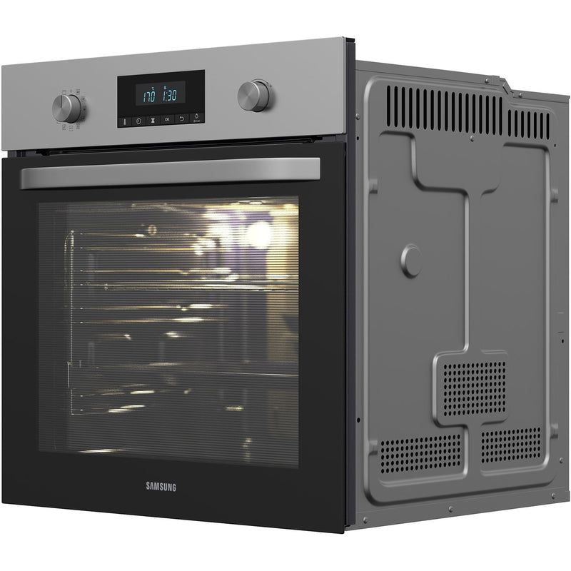 Samsung Dual Fan NV70K2340RS Built In Electric Single Oven - Stainless Steel - A Rated