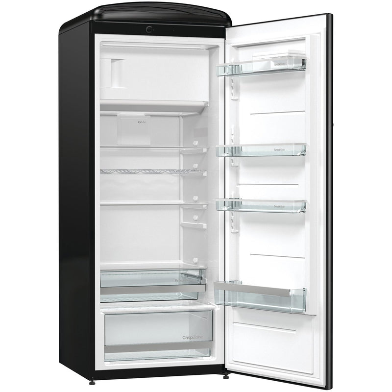 Gorenje Retro Collection ORB153R Fridge with Ice Box - Burgundy - A+++ Rated