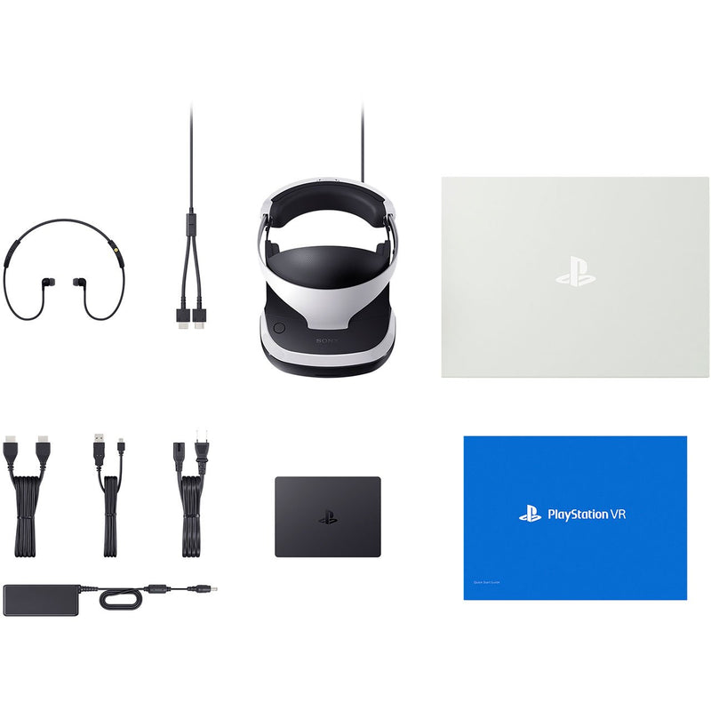 Sony PlayStation VR Headset V4 with VR Worlds (Download)