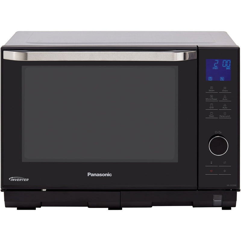 Panasonic 4in1 Steam NN-DS596BBPQ 27 Litre Combination Microwave Oven - Black