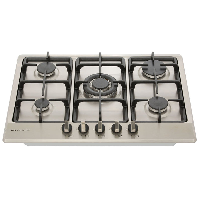 Rangemaster RMB70HPNGFSS 68cm Gas Hob - Stainless Steel