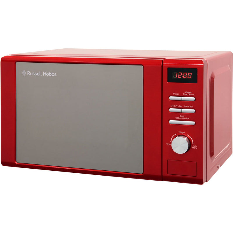 Russell Hobbs Heritage RHM2064R 20 Litre Microwave - Red