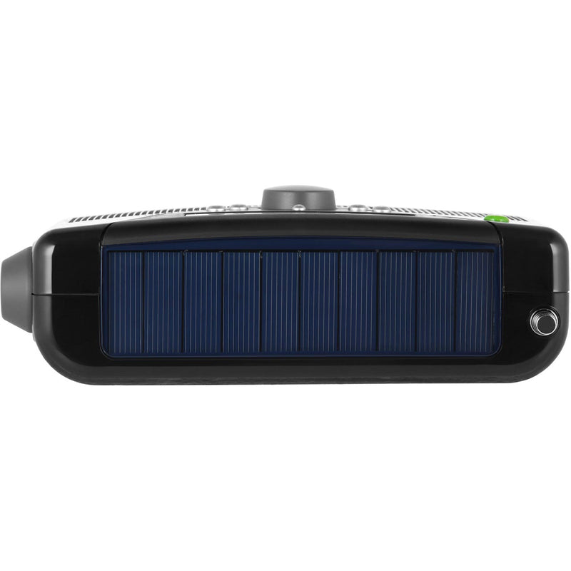 Roberts Radio Solar Portable SolarDAB2bk DAB Digital Radio with FM Tuner