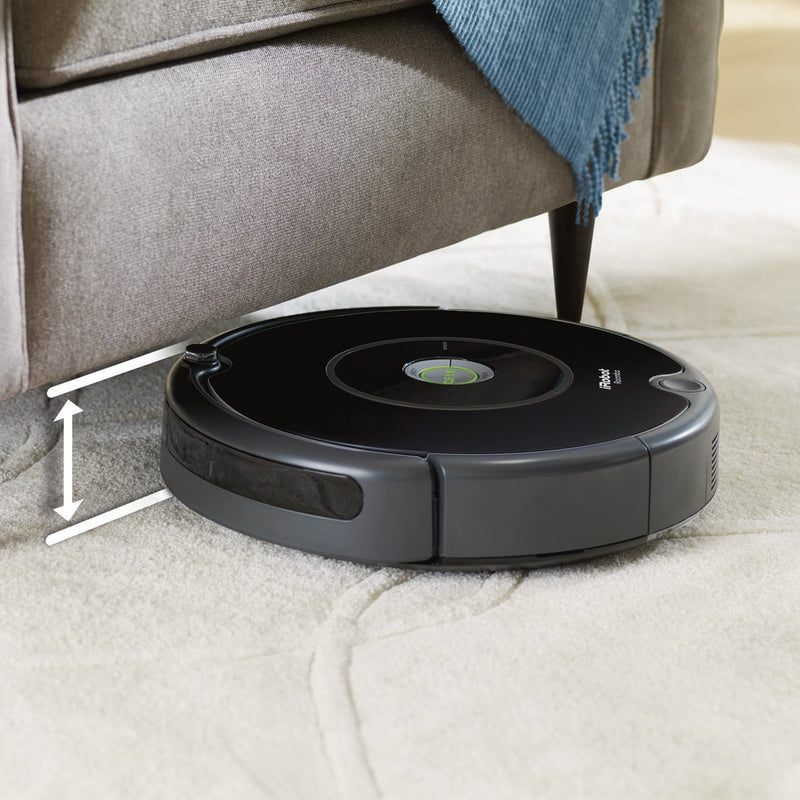iRobot Roomba 606 Robotic Vacuum Cleaner - Black
