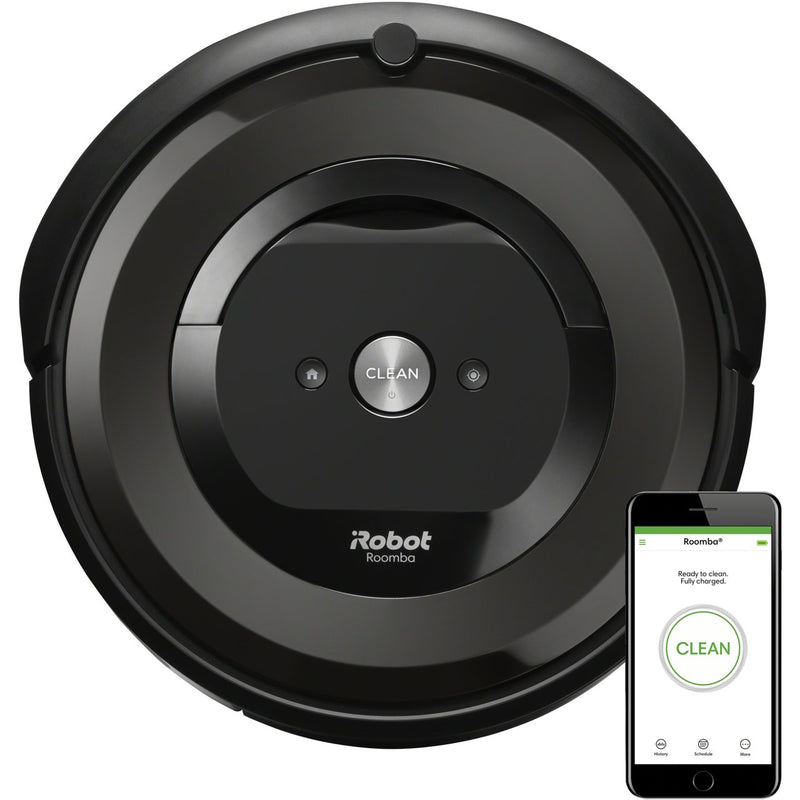 iRobot Roomba E5158 Robotic Vacuum Cleaner - Charcoal