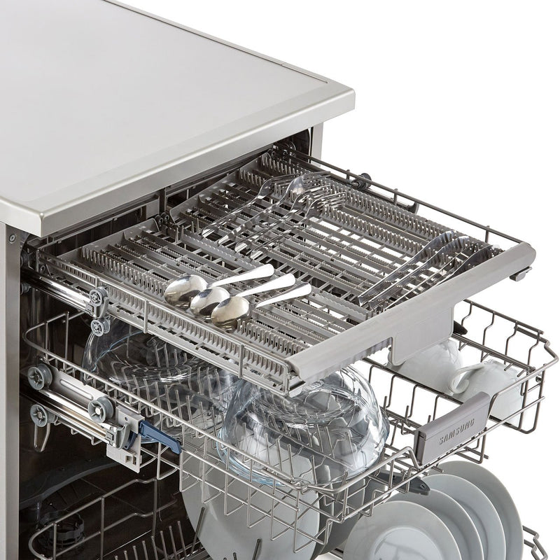Samsung Series 6 DW60M6050FS Standard Dishwasher - Stainless Steel - A++ Rated