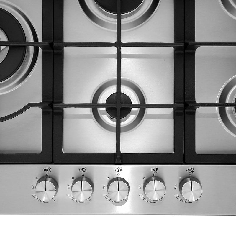 Samsung NA75J3030AS 75cm Gas Hob - Stainless Steel