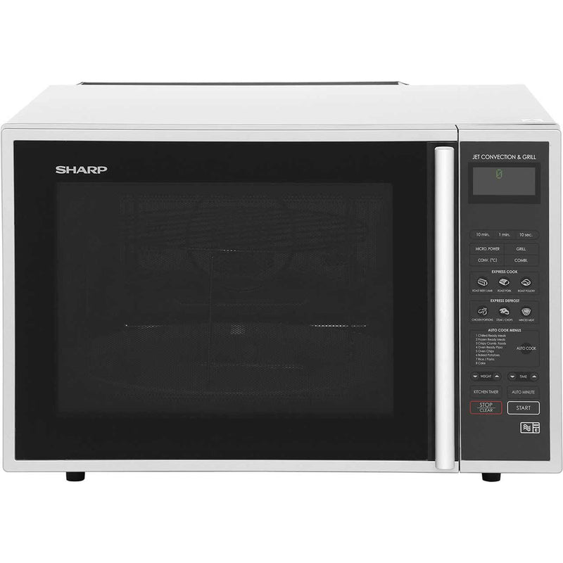 Sharp R959SLMAA 40 Litre Combination Microwave Oven - Silver / Black