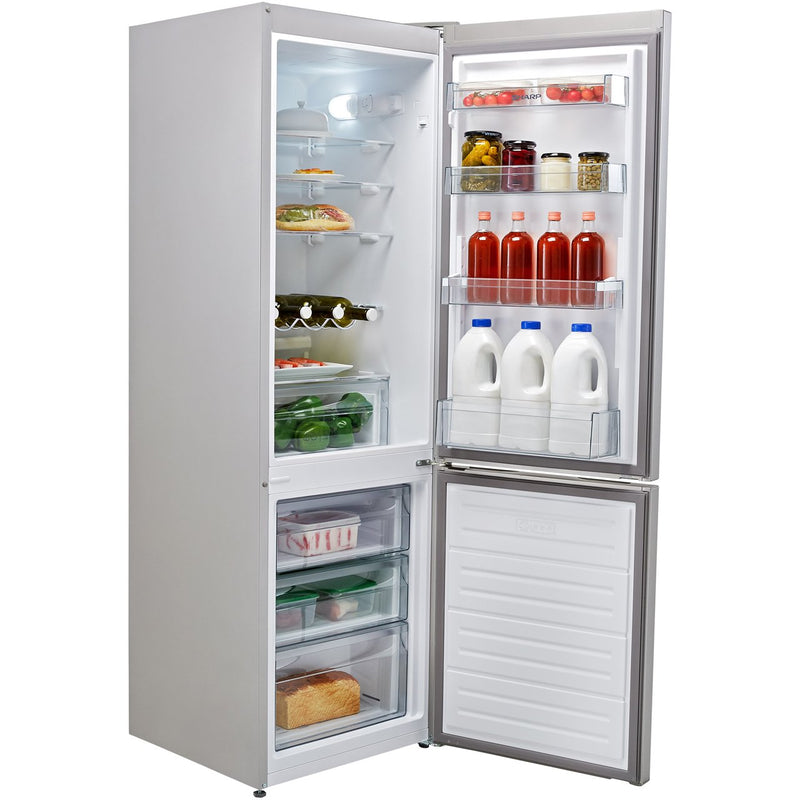 Sharp SJ-BB04DTXS1-EN 60/40 Fridge Freezer - Stainless Steel Effect - A+ Rated