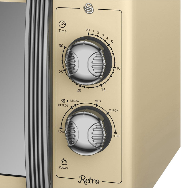 Swan Retro SM22070GN 25 Litre Microwave - Green