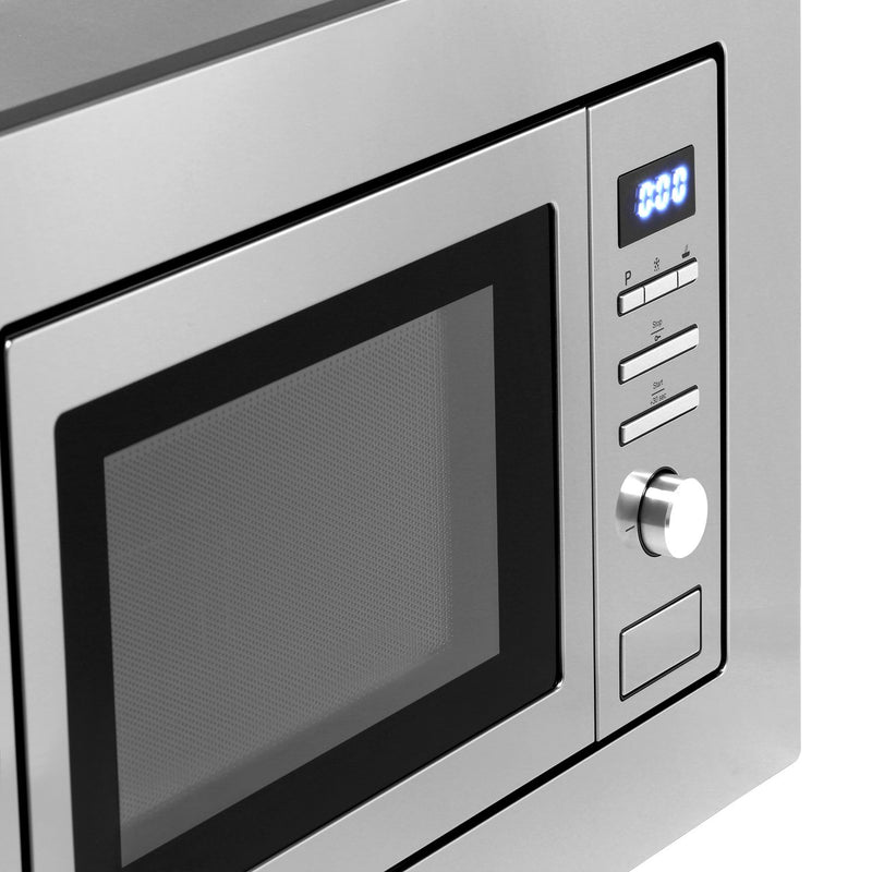 Smeg FMI017X Built In Microwave With Grill - Stainless Steel