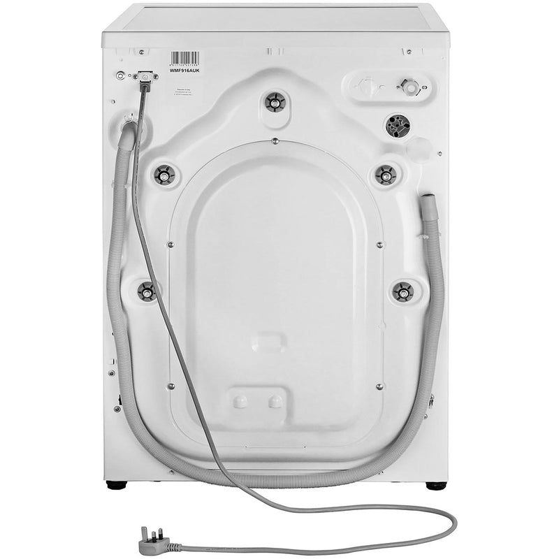 Smeg WMF916AUK 9Kg Washing Machine with 1600 rpm - White / Chrome - A+++ Rated