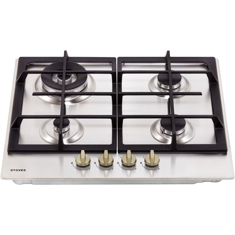 Stoves GHU60C 60cm Gas Hob - Stainless Steel