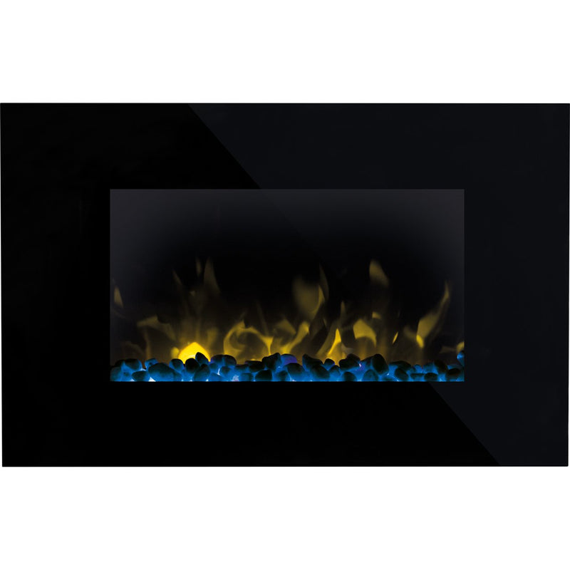 Dimplex Toluca TLC20 Pebble Bed Wall Mounted Fire - Black