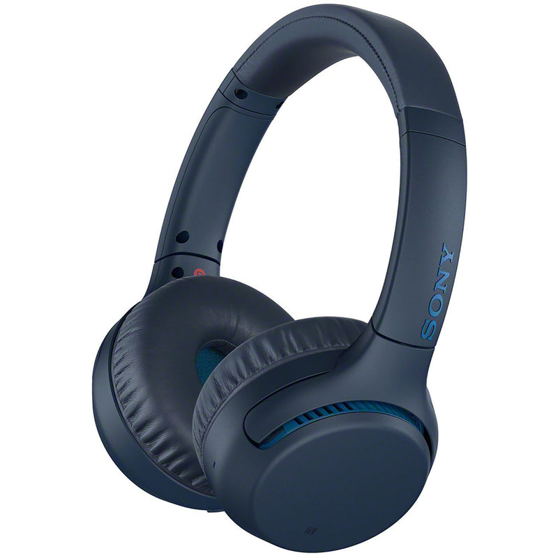 Sony WH-XB700 On-Ear Wireless Bluetooth Headphones - Blue