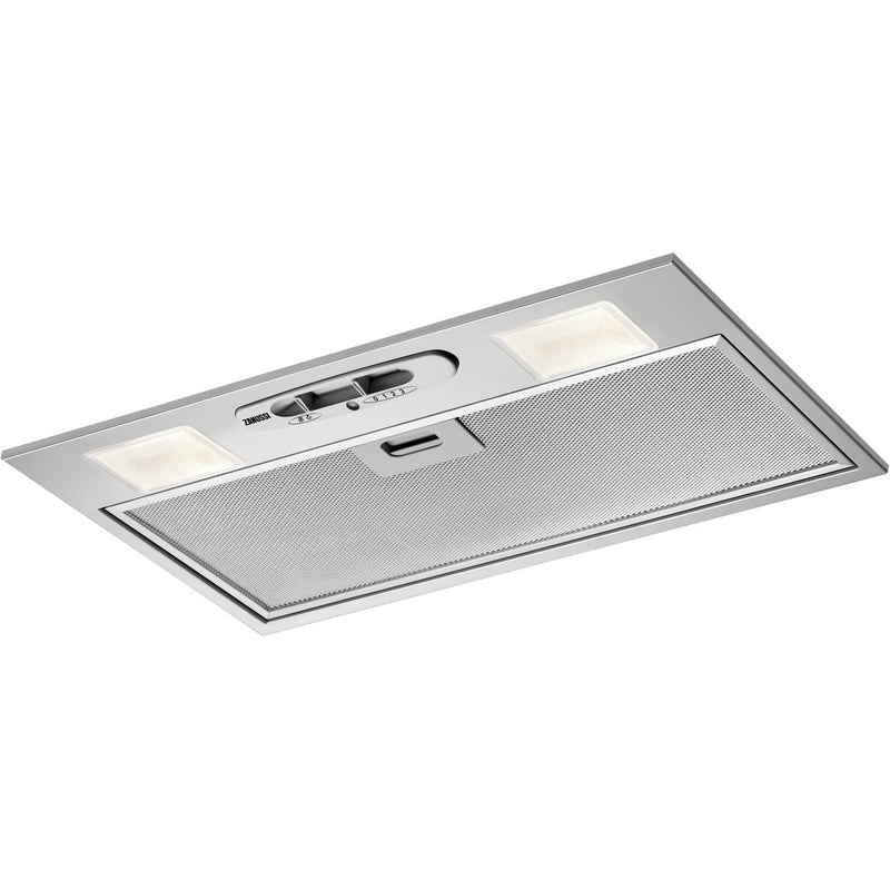 Zanussi ZHG51251G 52 cm Canopy Cooker Hood - Grey - D Rated