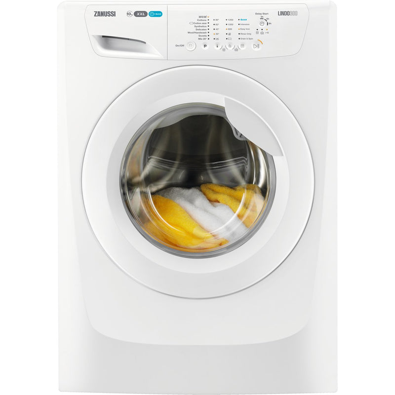 Zanussi Lindo300 ZWF01280W 10Kg Washing Machine with 1200 rpm - White - A+++ Rated