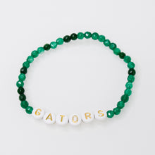 Load image into Gallery viewer, Gemstones and Initial Bracelet