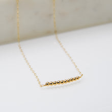 Load image into Gallery viewer, Golden Bar Necklace