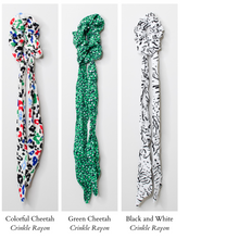 Load image into Gallery viewer, Hair Scarf Scrunchies
