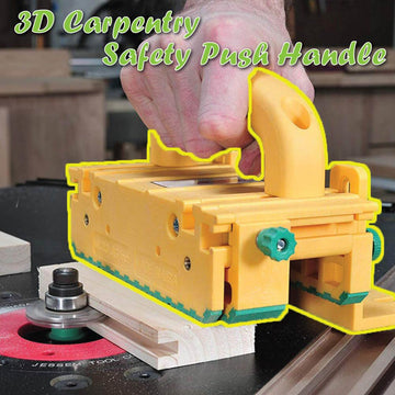 3D Carpentry Safety Push Handle