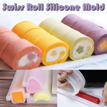 Swiss Roll Silicone Mold