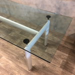 Load image into Gallery viewer, Le Corbusier glass table