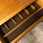 Load image into Gallery viewer, Teak cutlery Drawer
