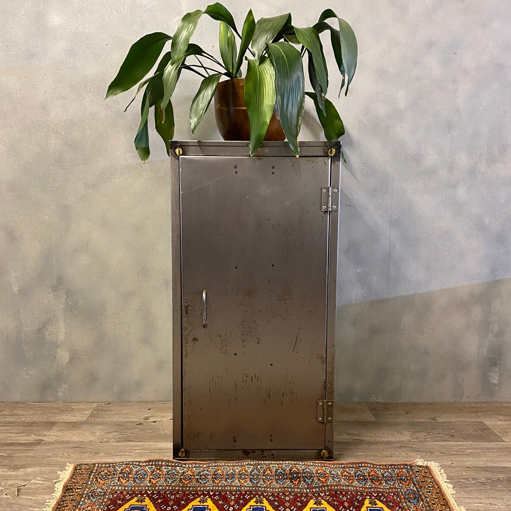 Industrial Lacquered Cabinet