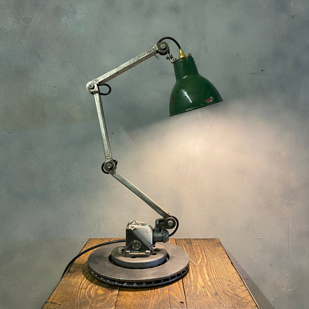 Industrial Desk Lamp British Machinist