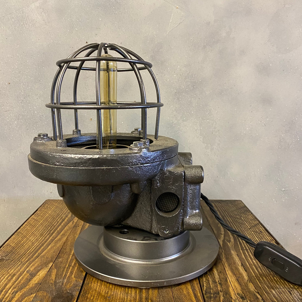 Industrial Cast Iron Table Desk Lamp