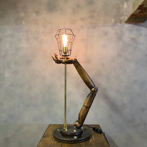 Vintage Desk Lamp Mannequin Arm