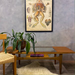 Load image into Gallery viewer, Midcentury teak coffee table