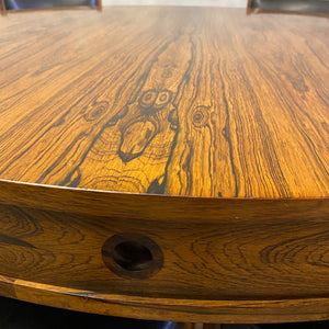 Rosewood midcentury table