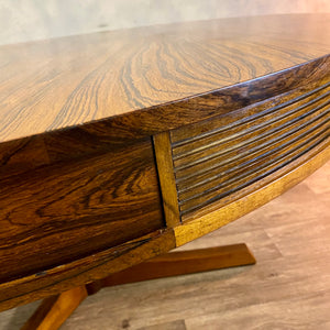 Midcentury Dining Table Archie Shine Rosewood
