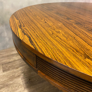 Cirular rosewood table