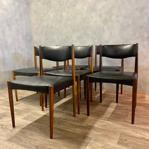 midcentury rosewood chairs