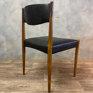 Midcentury rosewood dining chair
