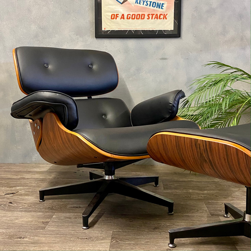Eames Chair And Ottoman Style